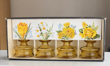 Load image into Gallery viewer, Dansk Design 'Inkwell' Candleholders / Bud Vases presentation box inc Candles