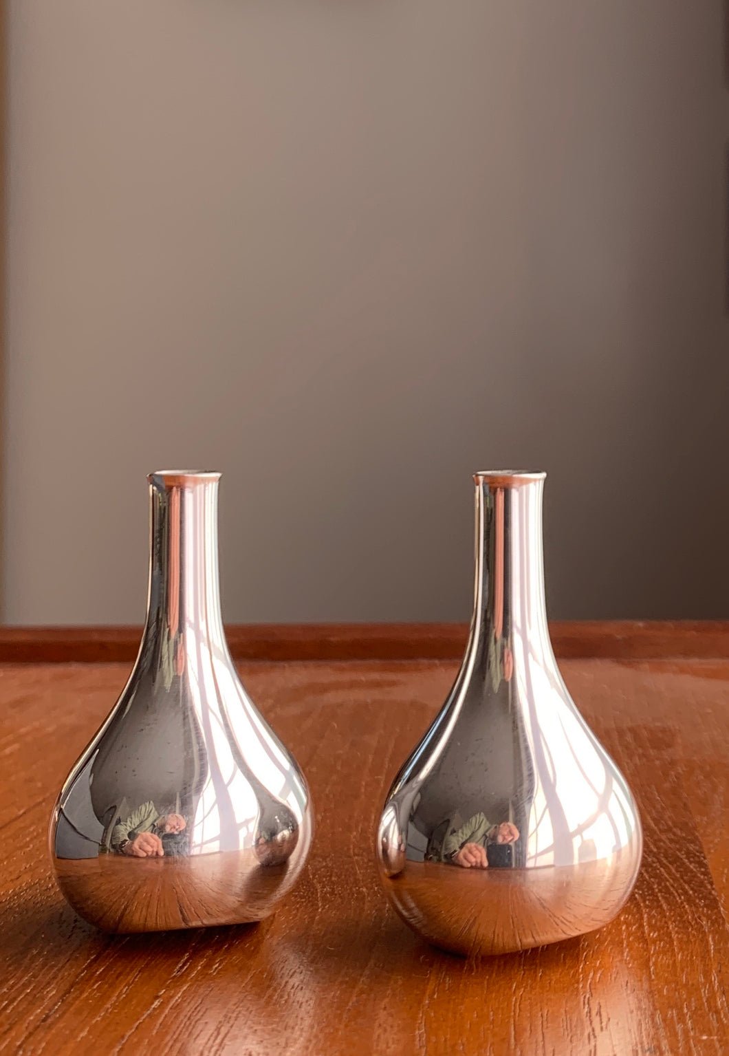 Dansk Design 'Silver Onion' Candle Holders