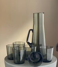 Load image into Gallery viewer, Scandinavian influenced Carafe set 1960s Caithness 'Stroma' design Domhnall O'Broin