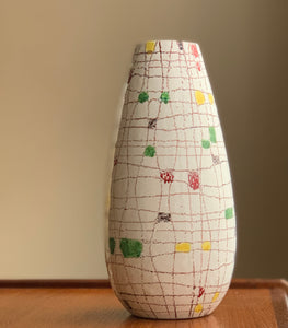 Large Midcentury Biscotti vase for Raymor