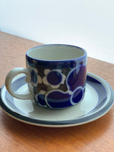 Load image into Gallery viewer, Arabia Finland Saara Pattern Coffee Set  Designed By Anja Jaatinen-Winquist