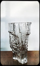 Load image into Gallery viewer, The iittala glass vase Textured Pinus 2784 vase from Finland.