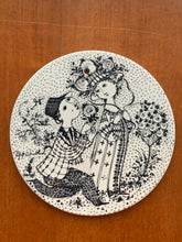 Load image into Gallery viewer, Vintage Bjørn Wiinblad Rosa June plate For Nymolle Denmark *15% discount available