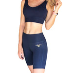 SOLD OUT - SAPPHIRE COMPRESSION SHORT SET