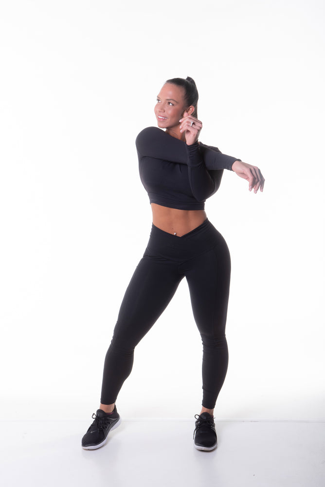 HIGH PERFORMANCE V SHAPE LEGGINGS