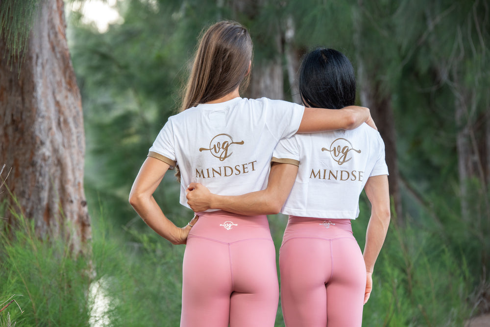 Load image into Gallery viewer, GODDESS MINDSET CROP TOP