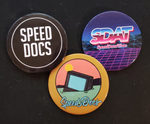 "Speed Docs ""Button 3-Pack"" Buttons (US Only)"