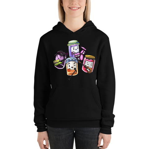 CCNeverender's Jam Session Hoodie (Women's Hooded Sweatshirt)