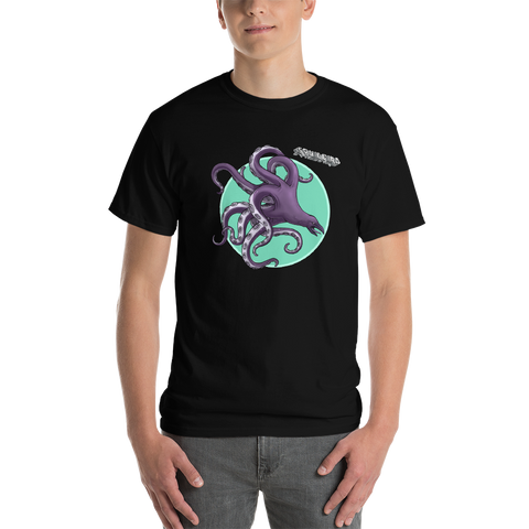 "Squid Bird ""Band Tee"" Men's Big and Tall T-Shirt"