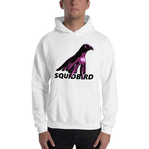 SquidBird Logo Hoodie (Men's Hooded Sweatshirt)