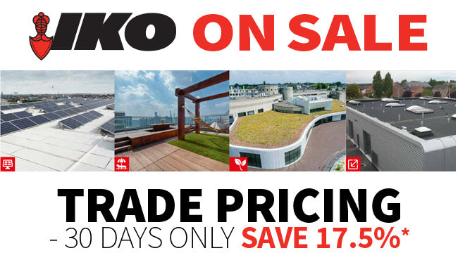 Selected IKO products on Sale