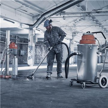 HUSQVARNA W70 Wet Slurry Vac