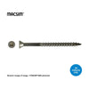 MACSIM Trim SS T17 Deck Screws 10g