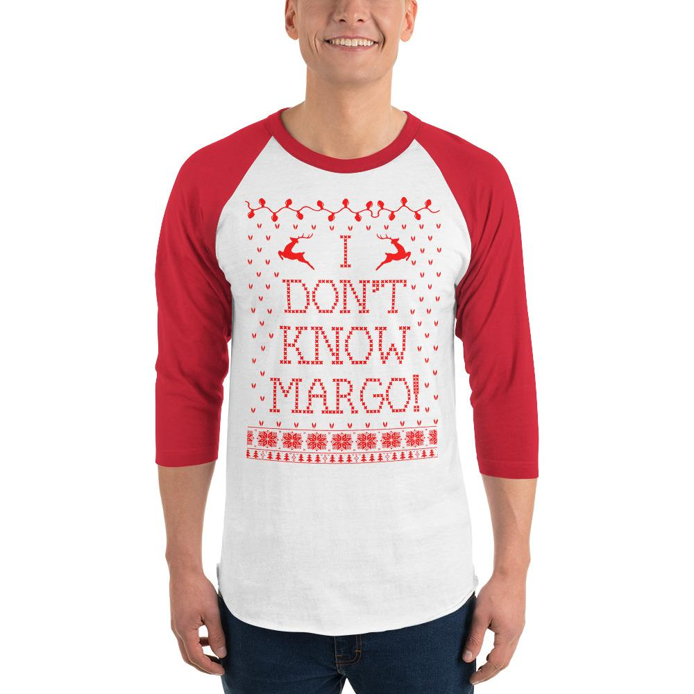 Christmas Vacation Sweaters.I Don T Know Margo Christmas Vacation Shirt For Ugly Christmas Sweater Party