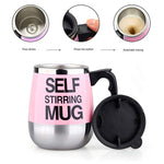 Self Stirring Mug Auto Self Mixing Stainless Steel Cup