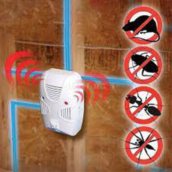 Electromagnetic Sonic Pest Repelling Aid