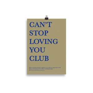 Can't Stop Loving You Poster - BST