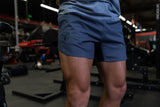 Charcoal Grey Training Shorts - Athletic Fit
