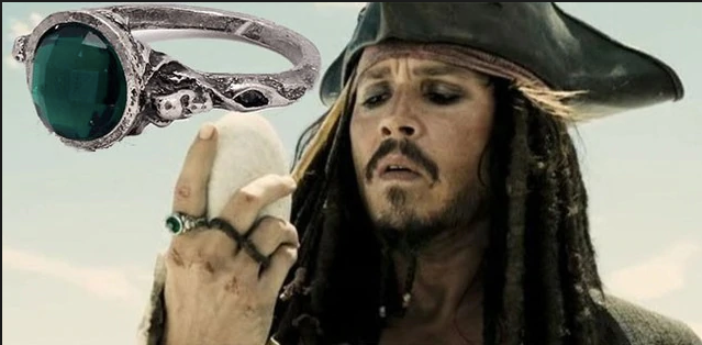 Captain Jack Sparrow Ring - POTC Replica