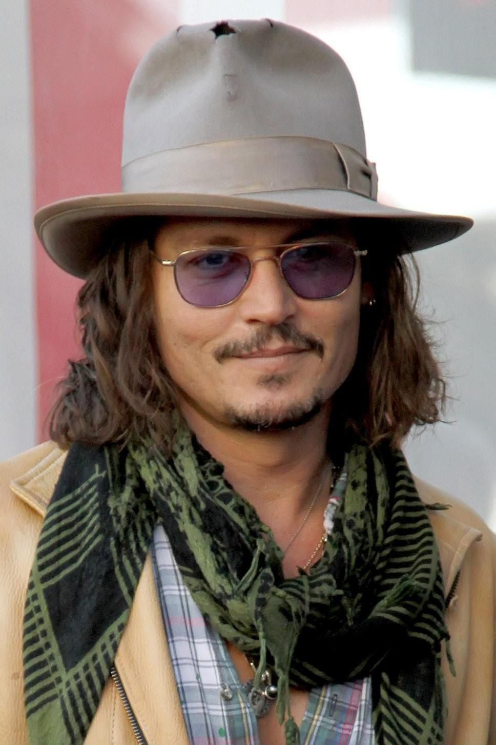 Johnny Depp Inspired Grunge / Tactical Fashion Scarf