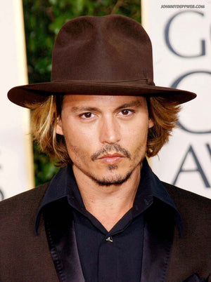 Johnny Depp Style Wool Hat