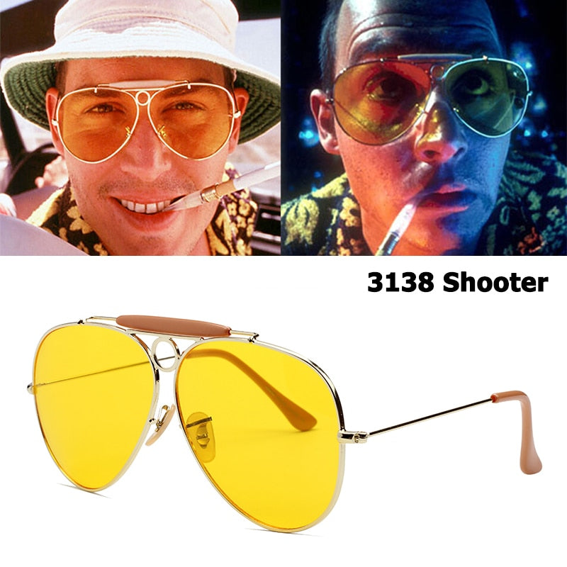 Johnny Depp's 'Fear and Loathing' - Gonzo Sunglasses