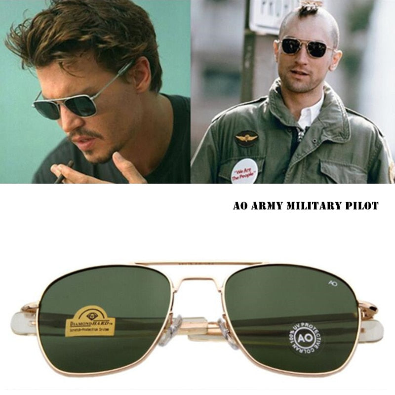 Johnny Depp Style Aviators