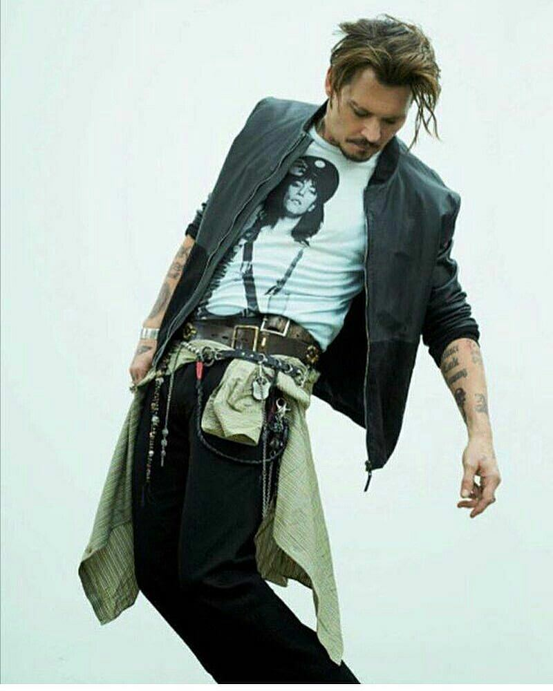 Johnny Depp Inspired Wallet Chain Accessories