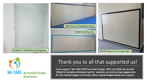 Sponsored Whiteboard projects