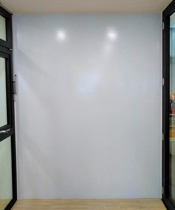 Projectable Magnetic Whiteboard Film - Self Adhesive- Matte Finishing