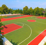 Basketball and tennis courts. Photo credit to https://www.instagram.com/p/B62bMOZHfEI/