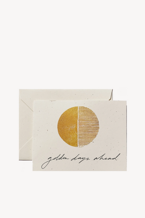 Golden Days Card