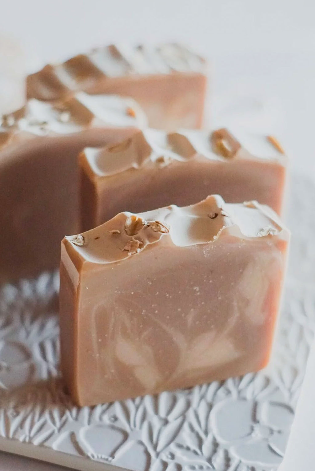 Oat Milk Honey Soap Bar