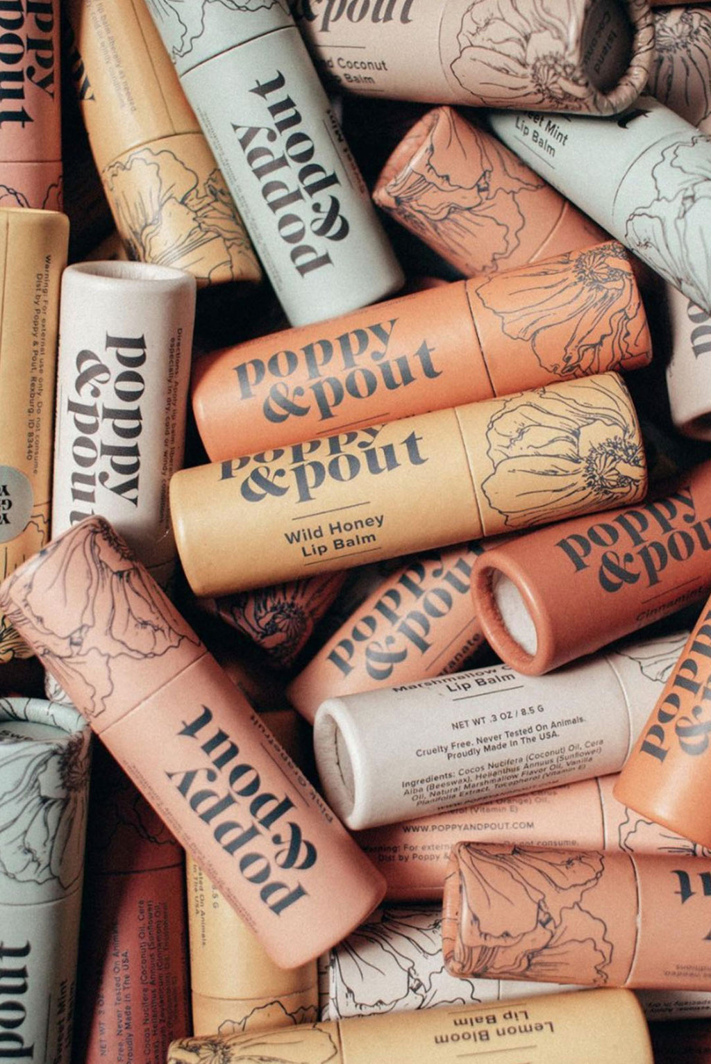 Lip Balms by Poppy Pout