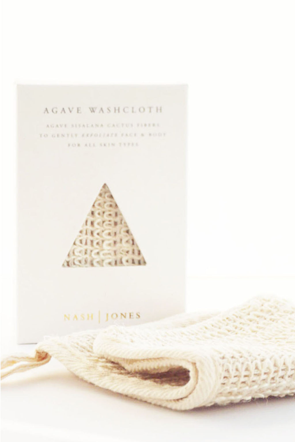 Natural Agave Washcloth