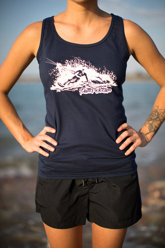 Women´s Tank Top NAVY BLUE