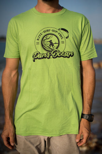 Men´s T-shirt KIWI GREEN