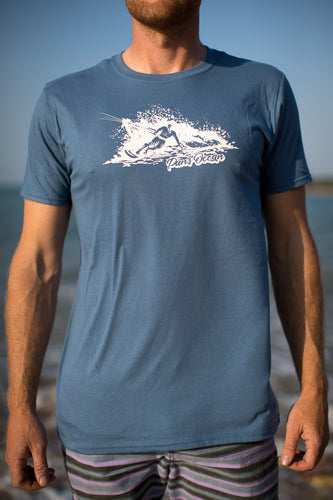 Men´s T-shirt INDIGO BLUE