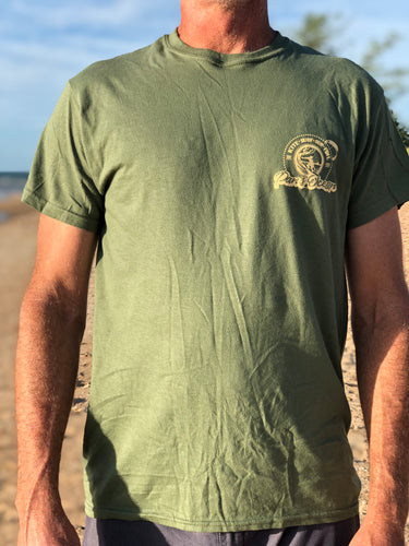 Men's T-shirt ARMY GREEN