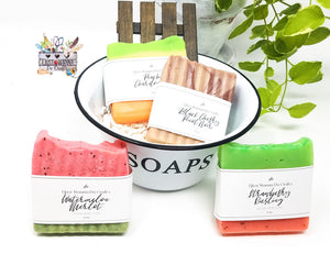 Vegan Wine Soap - Lather Up, Buttercup with I Just Wanna Do Crafts' Gift Shop