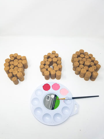 Painting-wine-corks-project