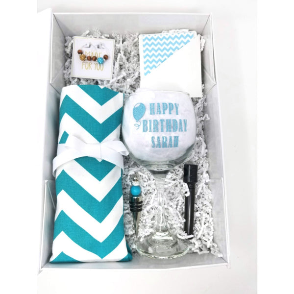 Happy-Birthday-Teal-Chevron-Wine-Bag-Deluxe-Gift-Sets