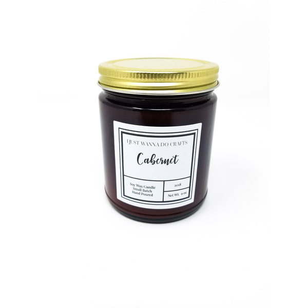 Cabernet Soy Wax Candle