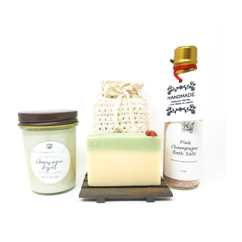 Champagne-Relaxation-Spa-Gift-Set