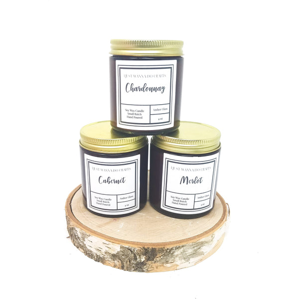 Gift Set_4oz-Wine-Scented Candles