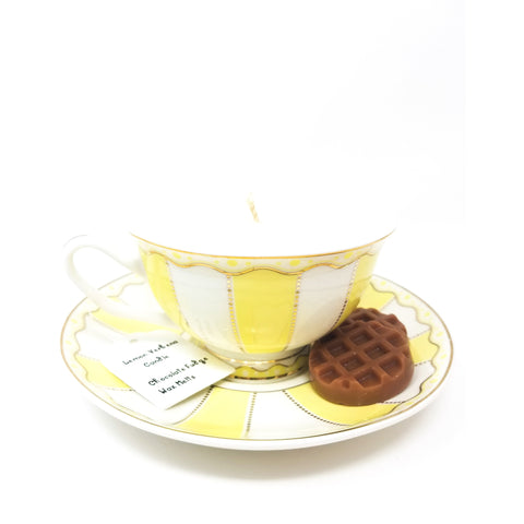 Lemon-tea-cup-candle-wax-melts