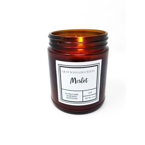 Merlot-Soy-Wax-Candle