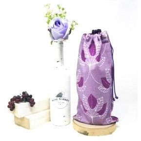Purple-Mulberry-Drawstring-Wine-Bag