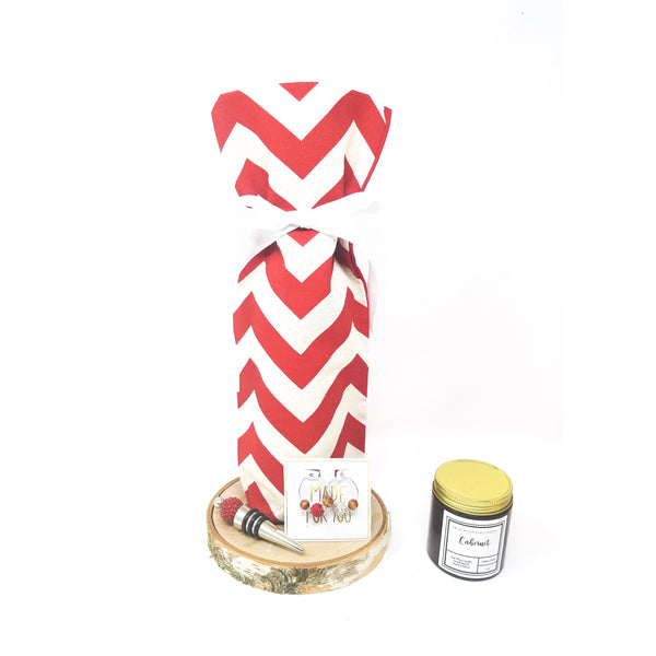 Red-Chevron-Wine-Bag-Gift-Set (2)