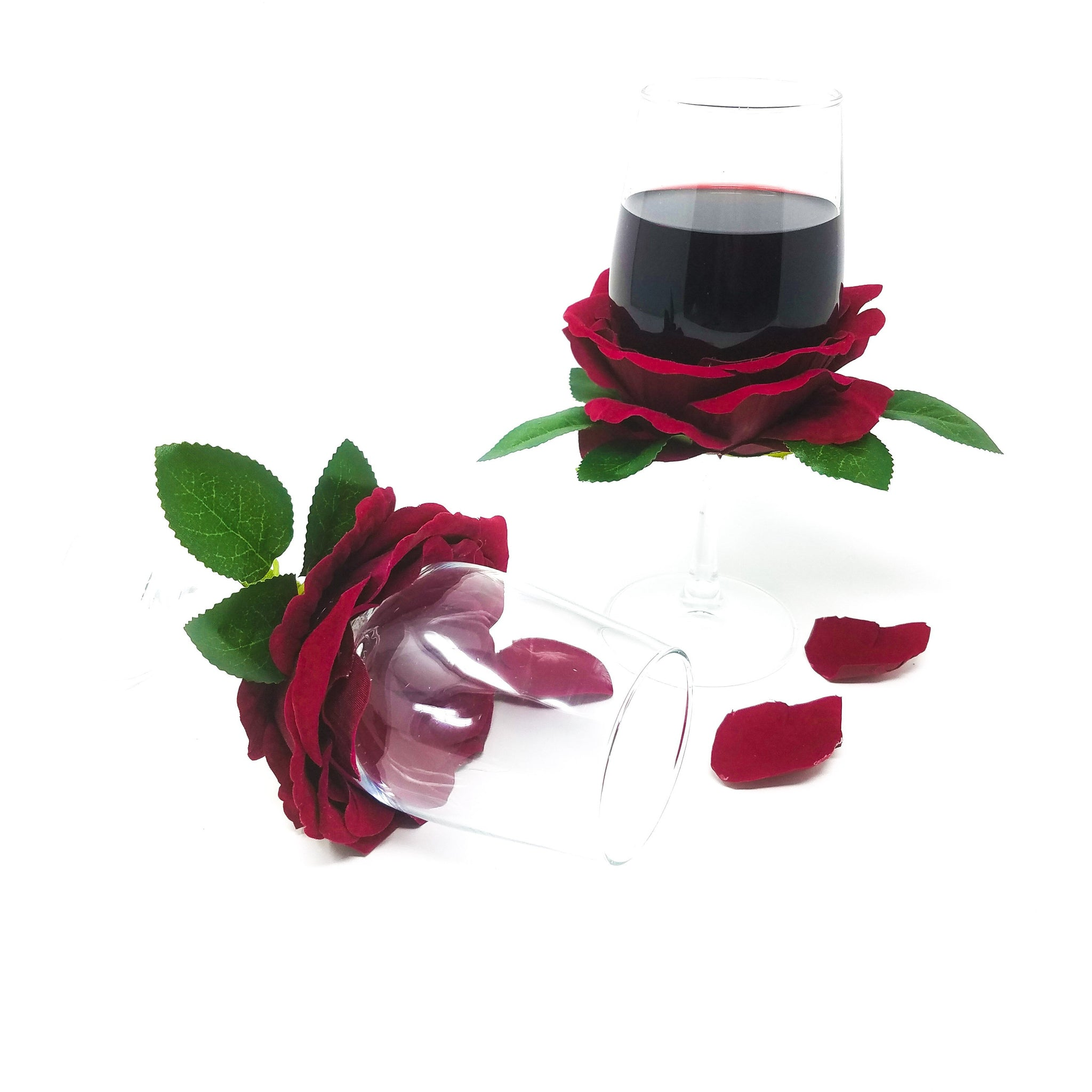 Rose-Petals-wine-glass